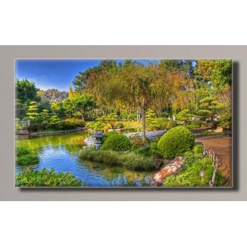 Картина (не раскраска) HolstArt Зеленый парк 91*55см арт.HAS-146