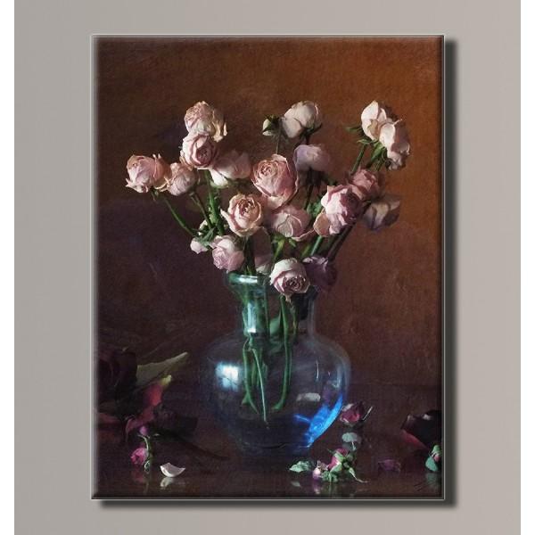 Купить Картина (не раскраска) HolstArt Цветы в вазе 41 ...