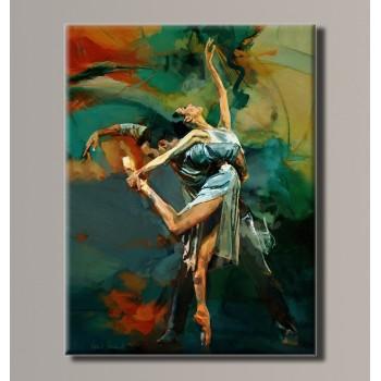 Картина (не раскраска) HolstArt Балерина 41*54см арт.HAS-184