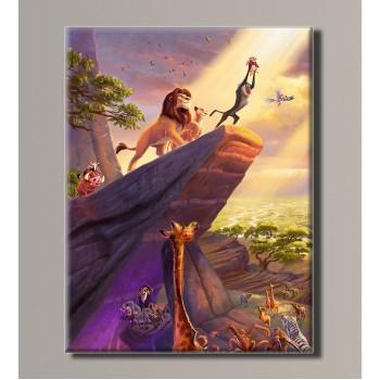 Картина (не раскраска) HolstArt Король Лев 41*54 см арт.HAS-202