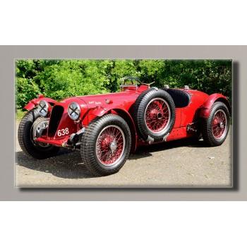 Картина (не раскраска) HolstArt Aston Martin 1939 55*32,5см арт.HAS-228