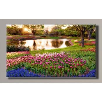 Картина (не раскраска) HolstArt Парк 55*32,5см арт.HAS-240