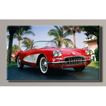 Картина (не раскраска) HolstArt Chevrolet Corvette 55*32,5см арт.HAS-244