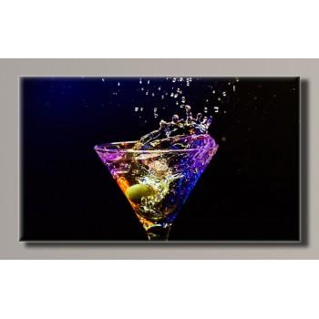 Картина (не раскраска) HolstArt Martini 91*55см арт.HAS-249