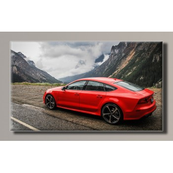 Картина (не раскраска) HolstArt Audi RS7 55*32,5см арт.HAS-258