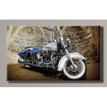 Картина (не раскраска) HolstArt мотоцикл 55*32,5см арт.HAS-274