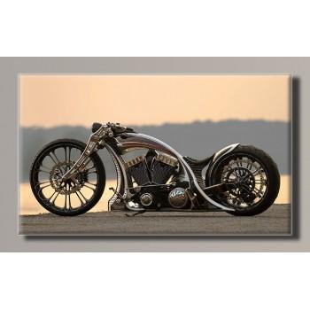 Картина (не раскраска) HolstArt мотоцикл 55*32,5см арт.HAS-275