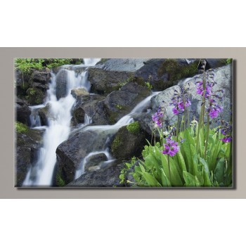 Картина (не раскраска) HolstArt Водопад 54*32см арт.HAS-320