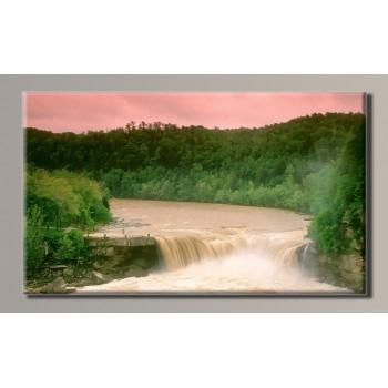 Картина (не раскраска) HolstArt Водопад 54*32см арт.HAS-332
