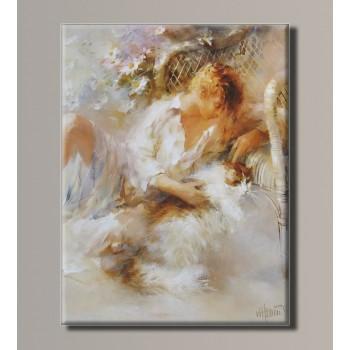 Картина (не раскраска) HolstArt Willem Haenraets живопись 41*54см арт.HAS-405