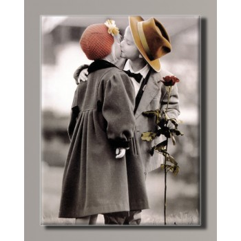 Картина HolstArt Дети от Kim Anderson 42*55 см арт.HAS-418