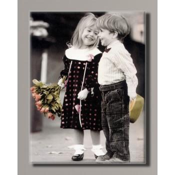 Картина HolstArt Дети от Kim Anderson 42*55 см арт.HAS-419