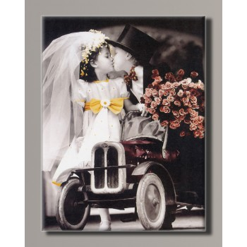 Картина HolstArt Дети от Kim Anderson 42*55 см арт.HAS-421