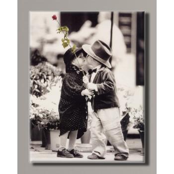 Картина HolstArt Дети от Kim Anderson 42*55 см арт.HAS-423