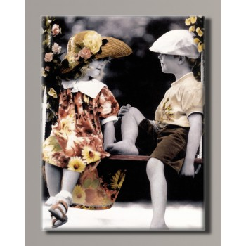 Картина HolstArt Дети от Kim Anderson 42*55 см арт.HAS-427