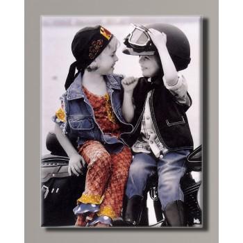 Картина HolstArt Дети от Kim Anderson 42*55 см арт.HAS-428