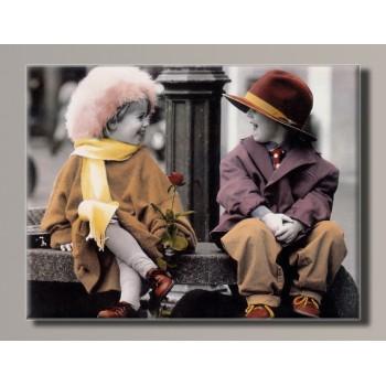 Картина HolstArt Дети от Kim Anderson 42*55 см арт.HAS-430