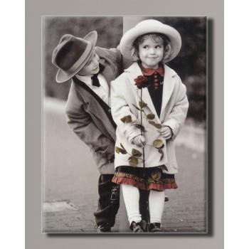 Картина (не раскраска) HolstArt Дети от Kim Anderson 42*55 см арт.HAS-431