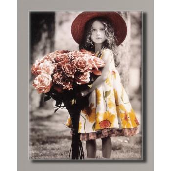 Картина (не раскраска) HolstArt Дети от Kim Anderson 42*55 см арт.HAS-448