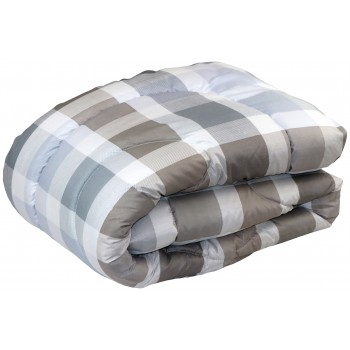 Одеяло Руно Клеточка двуспальное 172*205 см полиэстер/силиконовое волокно легкое арт.321.53Б_Клітинка
