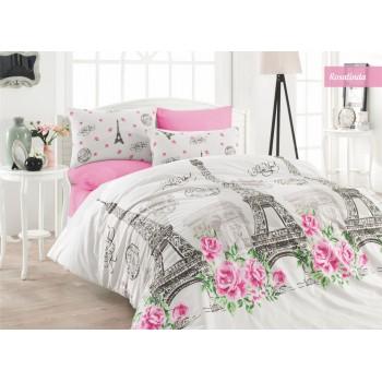 Комплект постельного белья Ecosse Ranforce семейный ранфорс арт.Rosalinda