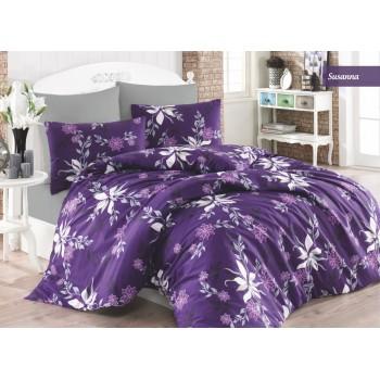 Комплект постельного белья Ecosse Ranforce семейный ранфорс арт.Susanna
