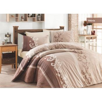 Комплект постельного белья Ecosse Ranforce семейный ранфорс арт.Valeria