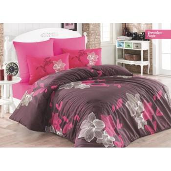 Комплект постельного белья Ecosse Ranforce семейный ранфорс арт.Veronica Fusya