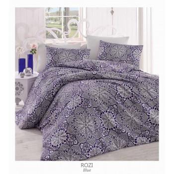 Комплект постельного белья Arya полуторный ранфорс Rozi арт.TR1003837