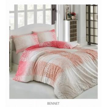 Комплект постельного белья Arya полуторный ранфорс Bennetарт.TR1003822