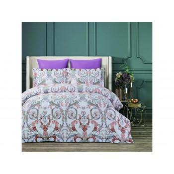 Комплект постельного белья Arya Fashionable Евро сатин Mandela арт.TR1004203