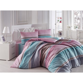 Комплект постельного белья Arya полуторный кретон Fergus арт.TR1004993
