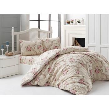 Комплект постельного белья Arya полуторный кретон Dinah арт.TR1004994