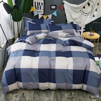 Комплект постельного белья Homytex Blue lake поликоттон двуспальный арт.8-2223-1