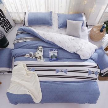 Комплект постельного белья Homytex Blue lagoon поликоттон двуспальный арт.8-2230-1