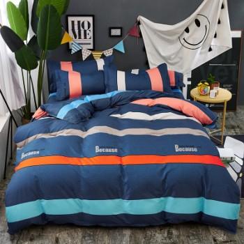 Комплект постельного белья Homytex Because поликоттон двуспальный арт.8-2233-1