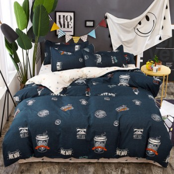 Комплект постельного белья Homytex Cofe поликоттон двуспальный арт.8-2234-1