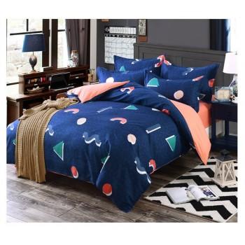 Комплект постельного белья Homytex Geometry поликоттон двуспальный арт.8-2240-1