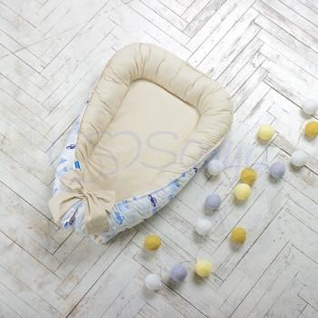Кокон для новорожденных Маленькая Соня Baby 65*90 см поплин детский City №29 арт.5020108