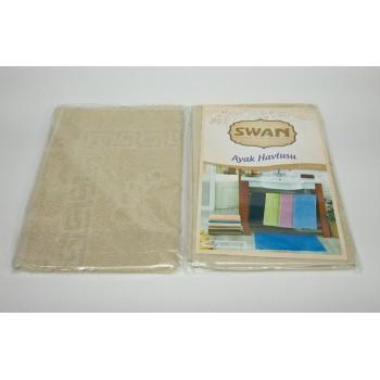 Коврик для ванной Swan 50*70 см бежевый Beige