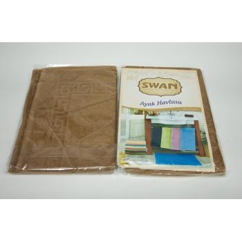 Коврик для ванной Swan 50*70 см светло-коричневый Light Brown