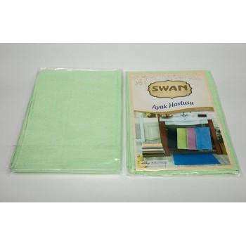 Коврик для ванной Swan 50*70 см салатовый Light Green