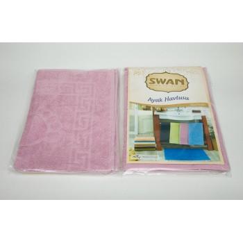 Коврик для ванной Swan 50*70 см розовый Rose