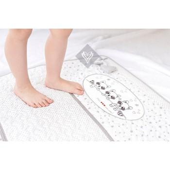 Коврик для ванной Ideia Кроха детский 60*90 см белый Енот арт.8-12955