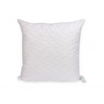 Подушка Leleka-textile Эконом 50*50 см микрофибра/холлофайбер стеганая М1