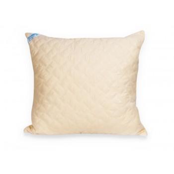 Подушка Leleka-textile Эконом 50*50 см микрофибра/холлофайбер стеганая М2