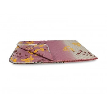Одеяло-покрывало Leleka-textile Евро 200*220 см поликоттон/холлофайбер стеганое летнее П739