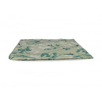 Одеяло-покрывало Leleka-textile двуспальное 172*205 см поликоттон/холлофайбер стеганое летнее П813
