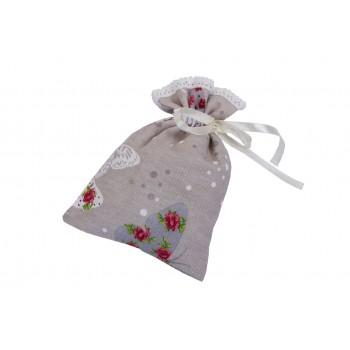 Мешочек для трав LiMaSo Бабочки и цветы №2 16*22 см хлопковый арт.MTB12.16x22