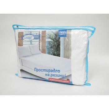 Наматрасник-простынь водонепроницаемый Leleka-textile Антивода 90*200*22 см махровый с бортами
